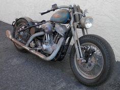 Harley Davidson Sportster CUSTOM BOBBER BY BOBBERPROS Chopper Rat Bike Vintage, US $9,100.00, image 21