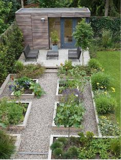 Garden design, modern garden design, vegetable garden design, veg garden, e Backyard Vegetable Gardens, Potager Garden, Vegetable Garden Design, Outdoor Gardens, Vegetables Garden, Veg Garden, Growing Vegetables, Fresh Vegetables, Garden Design Plans