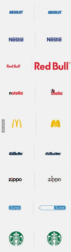 Logos affected by their product