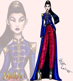 #DisneyDiva 'Fashionistas' by Hayden Williams: #Mulan| Be Inspirational ❥|Mz. Manerz: Being well dressed is a beautiful form of confidence, happiness & politeness