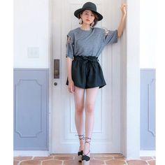 ドアを開けて今すぐお出かけしたい気分♡♡ http://valmuer.com/garden/top  #valmuer #valmuerofficial #gardenbyvalmuer #fashion #ootd #表参道 #鈴木ちなみ #selectshop
