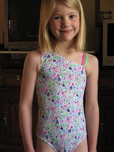 DIY One Shoulder Leotard or Swimsuit Pattern