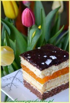 Brzoskwiniowa pychotka Sweet Recipes, Cake Recipes, Cake Cookies, Cupcakes, Butter, Food Cakes, Nutella, Tiramisu, Creme