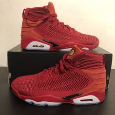 f4a42b8a2bb5d A stunning pair of Nike Air Jordan Flyknit Elevation 23 trainers Size UK7.  New in