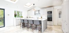 Contemporary Shaker Kitchen - Bespoke handmade wood kitchens by Maple and Gray