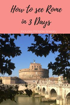 3 day Rome Travel Guide covering all major sites in Rome. Including The Vatican, The Colosseum, Roman Forum, Pantheon, Spanish Steps etc. I have been to Rome four times and I have managed to take family and friends round all the must-see sites comfortably in 3 days. I have added a Printable itinerary for you to take with you.