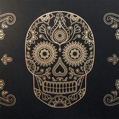 Sugar skull wallpaper