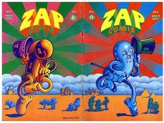 Zap cover, by Victor Moscoso