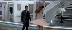 Ryu Cream Halter Bow Dress inspired by Anastasia Steele in Fifty Shades of Grey | TheTake