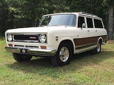 1971 International Harvester Travelall Perkins Diesel