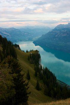 River, mountains, montagnes