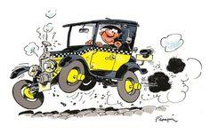 GUUST FLATER's AUTO - Franquin