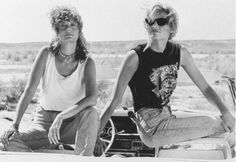 """Something's crossed over in me and I can't go back"": Thelma and Louise turns…"