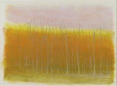 LowTrees on a Winter Day , 2008 ( pastel )