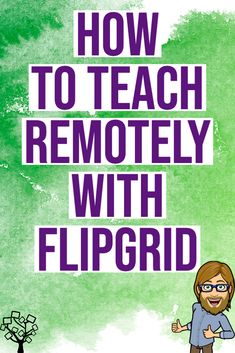 🔥How to Teach Remotely with Flipgrid 🔥 🔥How to Teach Remotely with Flipgrid 🔥,Education Technology Learn how to use Flipgrid, a free program that will allow you to set up a virtual, video-based classroom. E Learning, Blended Learning, Learning Resources, Teacher Resources, Teaching Technology, Educational Technology, Technology Lessons, Instructional Technology, Educational Games