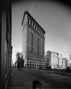 Flatiron Building, Old And New, Old Photos, New York City, Skyscraper, Multi Story Building, Urban, Old Pictures, Skyscrapers