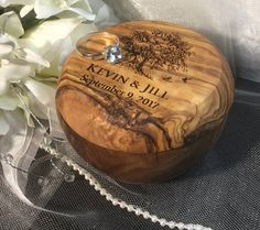 FAST SHIPPING Rustic Ring Bearer Box Wedding Ring Box Ring