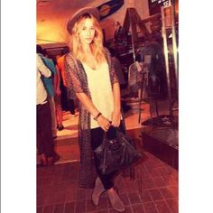 Gillian Zinser in our Sheer Tunnels dress