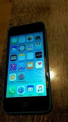 Apple  iPhone 5c - 8GB - Blau (Ohne Simlock) Smartphone