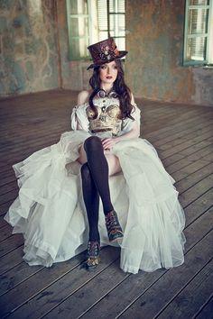 steampunkopath:  Steampunk Girls http://steampunkopath.tumblr.com/Mistress Annalisa