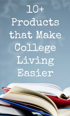College is an interesting and excited time for most people -- here are 10+ products that make college living a little easier!
