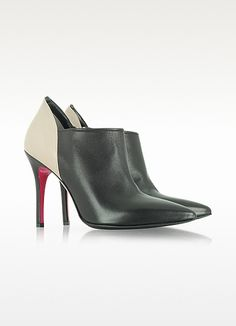 Luciano Padovan Two Tone Leather Bootie | FORZIERI