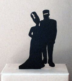Hey, I found this really awesome Etsy listing at https://www.etsy.com/listing/162497582/wedding-cake-topper-halloween-wedding