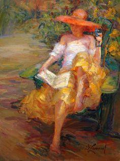 Afternoon in the Garden ~ Diane Leonard