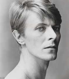 The usually flamboyant David Bowie is captured by Snowdon in a rare moment of quiet reflection.