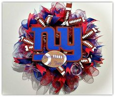 Check out this item in my Etsy shop https://www.etsy.com/listing/223185801/custom-handmade-football-deco-mesh