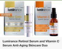 Lumirance vitamin C & Retinol serum