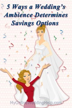 Ideas for cutting back on cost of the menu, dessert, drinks, photography, and venue, but savings choices depend on what style wedding you want. #MyOnlineWeddingHelp