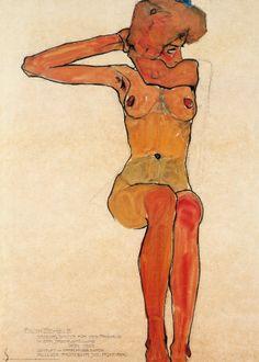 Nu Assis, 1910 Print