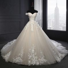 A Line Wedding Dress Sweetheart, Wedding Dress Organza, Wedding Dresses 2018, Applique Wedding Dress, Princess Wedding Dresses, Cheap Wedding Dress, Bridal Dresses, Lace Applique, Gown Wedding
