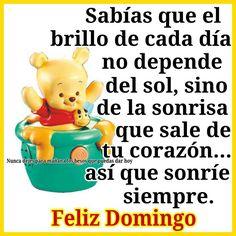 Happy Week, Winnie The Pooh, Wish, Spanish, Sunday, Language, My Favorite Things, Memes, Fun
