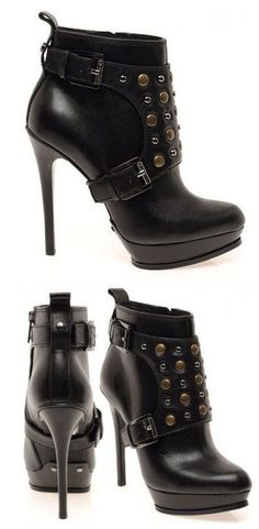 Michael Kors Studded Ankle Boots