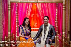 Indian Bride and Groom in Garba in Gujarati Wedding in Hilton, Stamford, CT Abhishek Decorators, Chand Palace and Maxx Entertainment, Zeeshan Shamji and Poonam Khanna from RSVP Events. Bride and Groom Portrait. Featured in Maharani Weddings. Best Wedding Photographer PhotosMadeEz. Award winning Photographer Mou Mukherjee