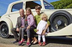 Familie Müller - Oldtimer James - die Rittersleut - Gastgeber