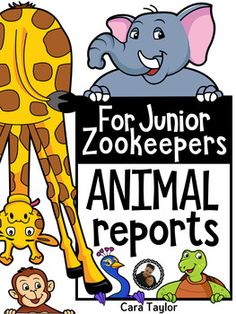 Writing reports can be a scary assignment for young learners, unless you have the right resource to help!  This set of printables will be a lifesaver for you and them, as they are geared towards those first time report writers with guided prompts.  The pages are simple and clean, perfect for young learners.Included are:~Cover pages for 30 different animals!~Table of Contents Page~Habitat Page~Food/Diet Page~Appearance Page~Movement Page~Fun Facts Page~All About the Author Page