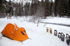 Winter backpacking & Camping Tips