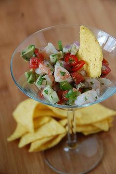 Shrimp Ceviche  Recipe: Shrimp Ceviche