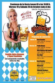 Llega el Oktoberfest a Benidorm Beatles, Concert, Live, Oktoberfest, The Beatles