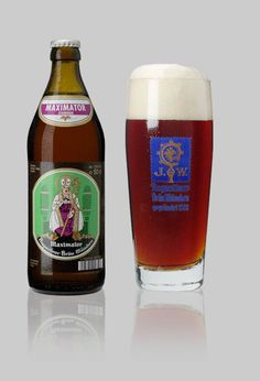 """Augustiner Maximater - Augustiner Brewery, Germany : """"Deep reddish-chestnut, brilliantly clear"""", it is """"redolent with simmered malt aromas"""" - """"dried fruit, roasted nut, and chocolate and caramel"""". Flavors include """"sticky toffee pudding"""", """"Crème brûlée"""", """"treacle tart"""" and """"bittersweet chocolate and caramel pecan turtles"""". """"Rich and satisfying, this is a masterpiece"""". Oh my!"""
