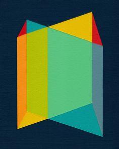 geometric paper art