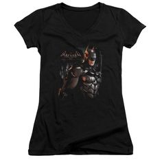 "Checkout our #LicensedGear products FREE SHIPPING + 10% OFF Coupon Code ""Official"" Batman Arkham Knight / Dark Knight-junior V-neck - Batman Arkham Knight / Dark Knight-junior V-neck - Price: $29.99. Buy now at https://officiallylicensedgear.com/batman-arkham-knight-dark-knight-junior-v-neck"