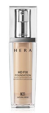 KOREAN COSMETICS AmorePacific_HERA HERA HD FIX FOUNDATION NO21Natural Beige SPF 15PA  30m Cover Foundation HD continuous001KR *** Visit the image link more details.