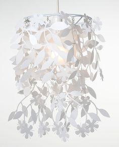 Hanging Flower Lamp Shade