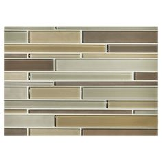 PHENOMENA GLASS MOSAIC - Derbish Blend - Gloss & Matte, Stagger Blend Mosaic. Complete Tile Collection MI#: 263-G2-271-067 #GlassMosaic