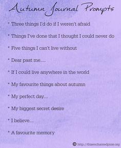 ...autumn journal prompts