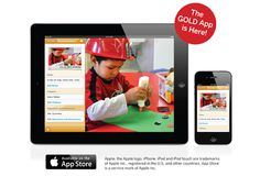 Pre-K teachers take notice!  Here is a simple way to upload and document learning progress in your classroom!  This iPad and iPhone app lets you upload on-the-spot documentation to GOLD Online.  GOLD Online assessment system lets you document learning progress which are correlated to the Head Start objectives and meet many state's Early Childhood Learning Standards. Teaching Strategies Gold, Teaching Ideas, Gold App, Creative Curriculum, Teaching Technology, New Teachers, Iphone App, Head Start, School Fun